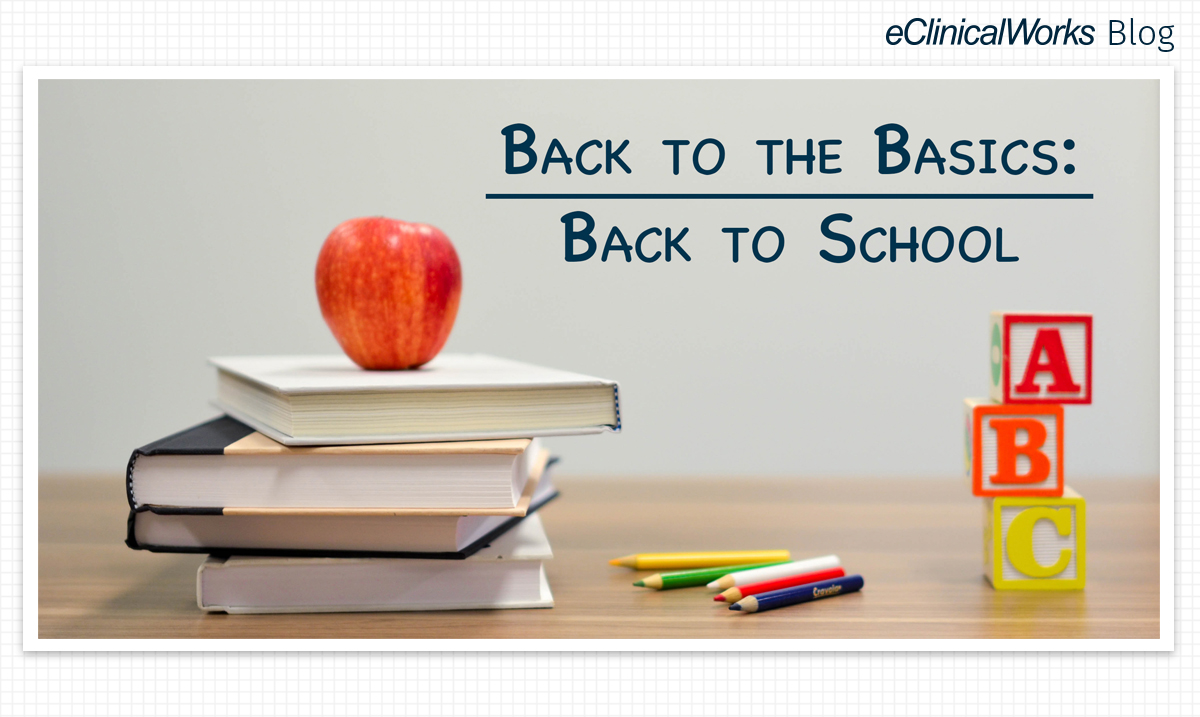 Back to the Basics: Back to School